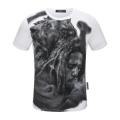 多色可選 ナチュラルコーデのコツ フィリッププレイン PHILIPP PLEIN 半袖Tシャツ ナチュラルスタイルに最適