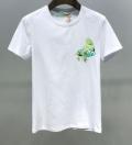 魅力を最大限に生かす  半袖Tシャツ 2色可選 明るく爽やかな雰囲気に Off-White オフホワイト 今年春夏も大人気