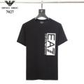 ARMANI アルマーニ 2019SSの人気トレンドファッション Tシャツ/ティーシャツ 夏に爆発的な人気 2色可選