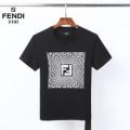 印象的な春夏コーデに 半袖Tシャツ2色可選  余裕のあるコーデに挑戦 フェンディ FENDI